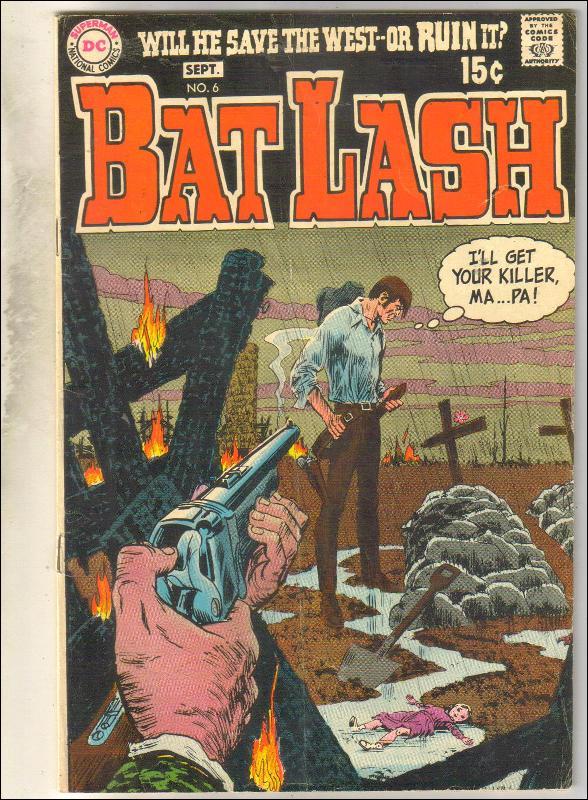 Bat Lash #6 comic book very good 4.0