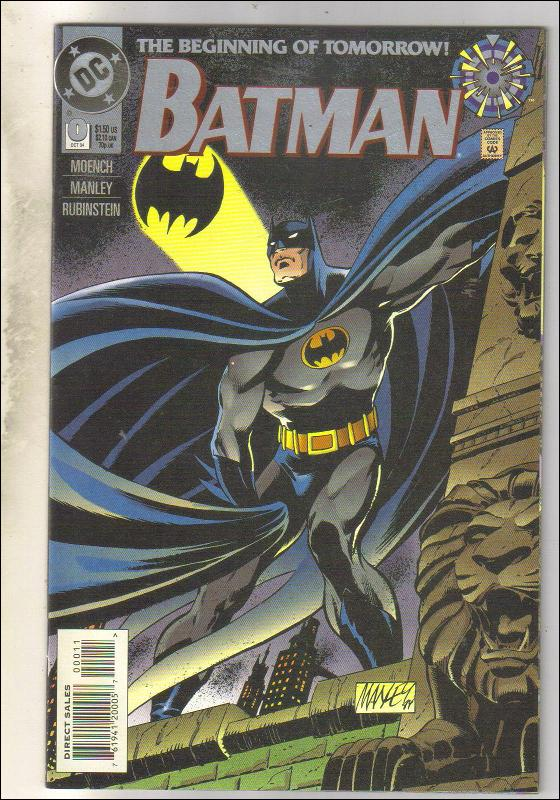 Batman #0 comic book near mint 9.4