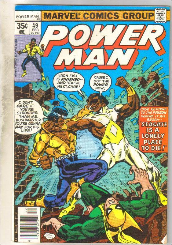 Power Man #49 comic book very fine 8.0