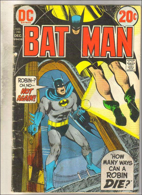 Batman #246 comic book fair 1.5
