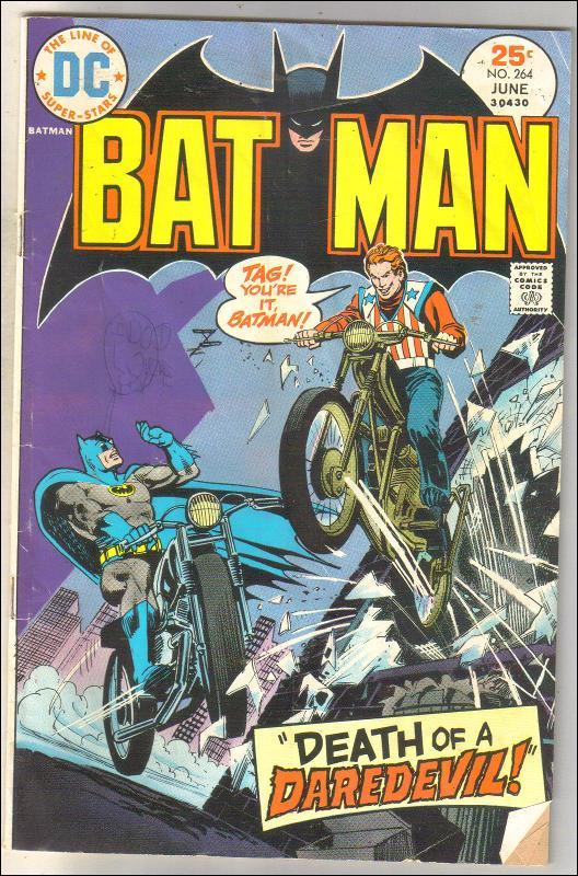 Batman #264 comic book good/very good 3.0