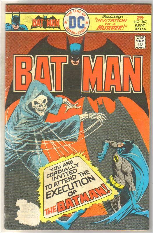 Batman #267 comic book good/very good 3.0