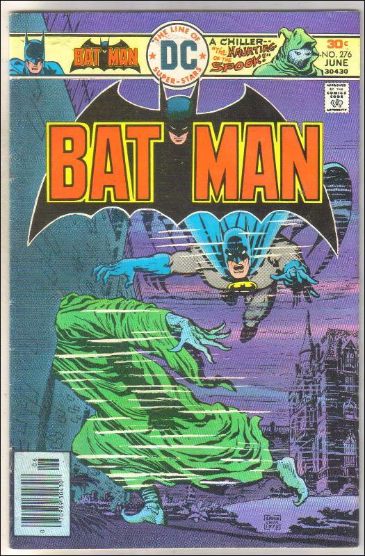 Batman #276 comic book very good 4.0