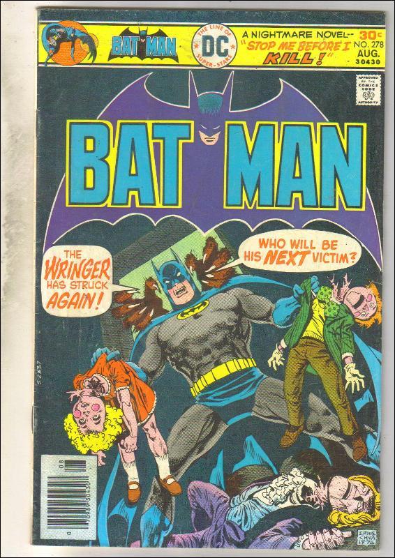 Batman #278 comic book very good/fine 5.0