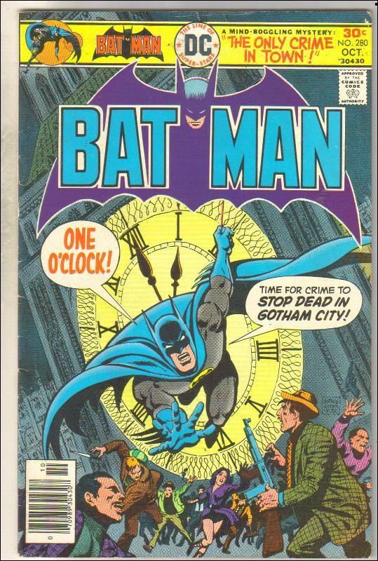 Batman #280 comic book very good/fine 5.0
