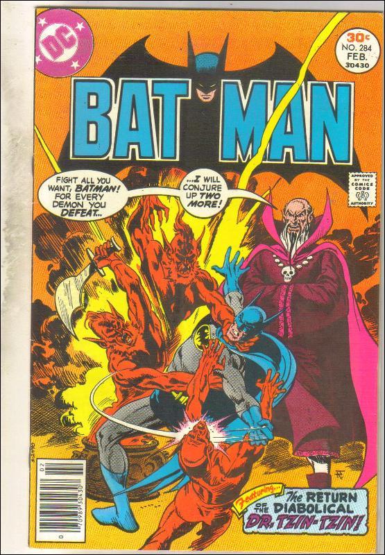 Batman #284 comic book very good/fine 5.0