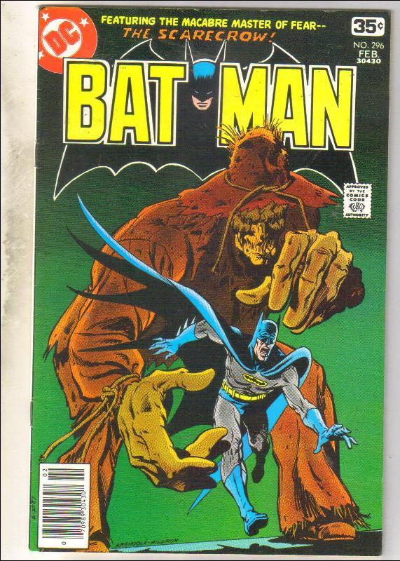 Batman #296 comic book fine/very fine 7.0