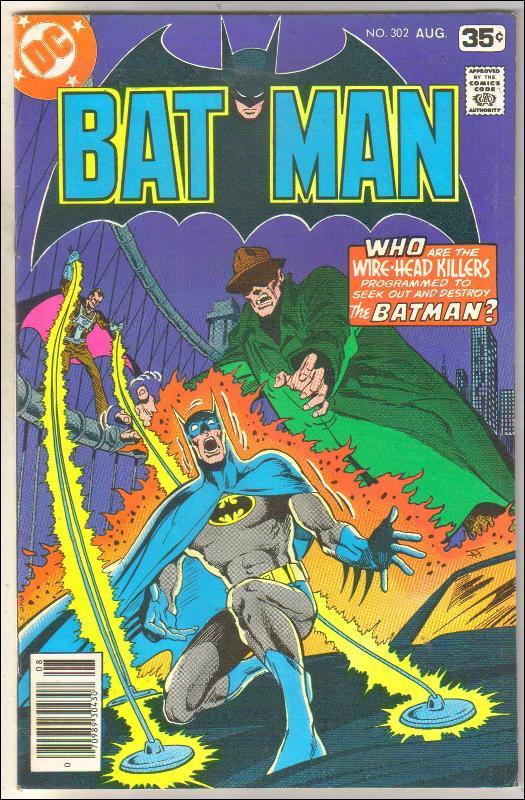Batman #302 comic book fine 6.0