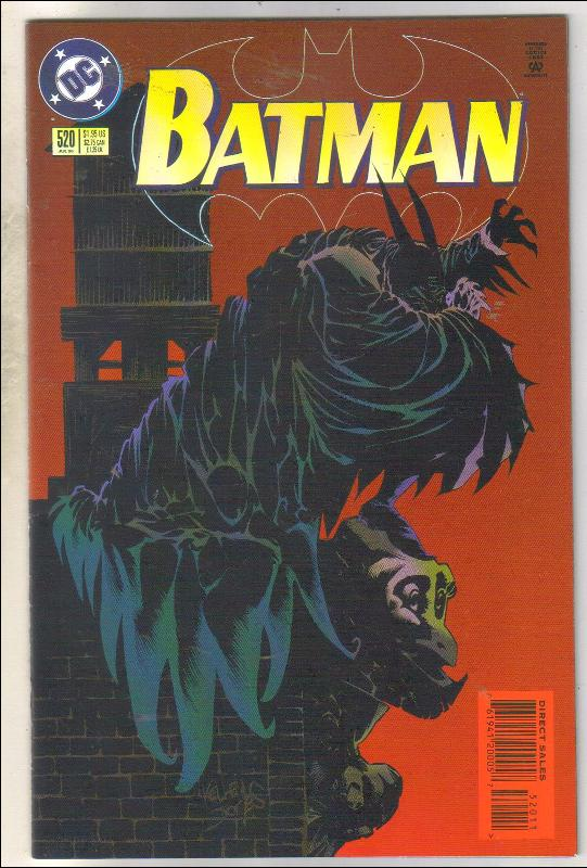 Batman #520 comic book near mint 9.4