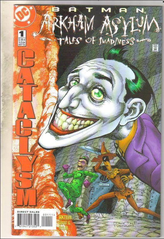 Batman Arkham Asylum Tales of Madness comic book  mint 9.8