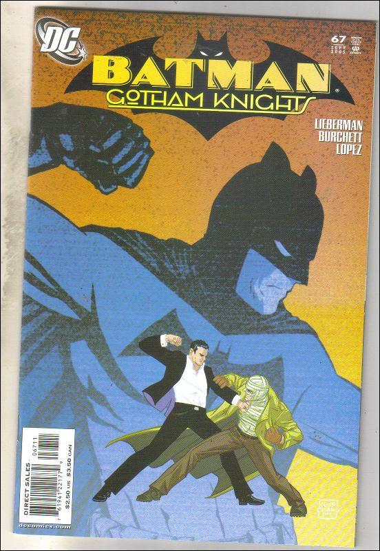 Batman Gotham Knights #67 comic book near mint 9.4