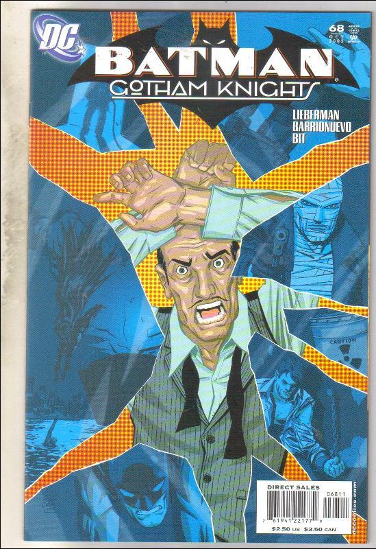 Batman Gotham Knights #68 comic book near mint 9.4