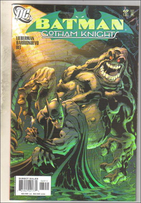 Batman Gotham Knights #69 comic book near mint 9.4