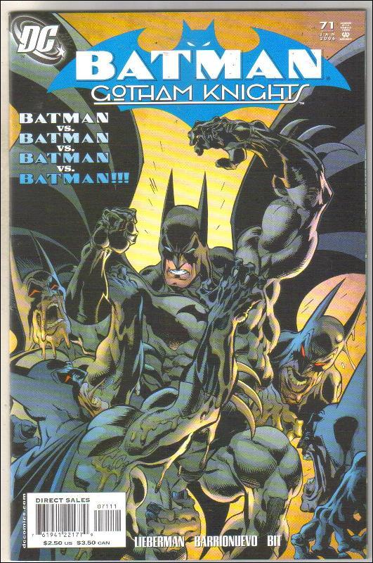 Batman Gotham Knights #71 comic book near mint 9.4