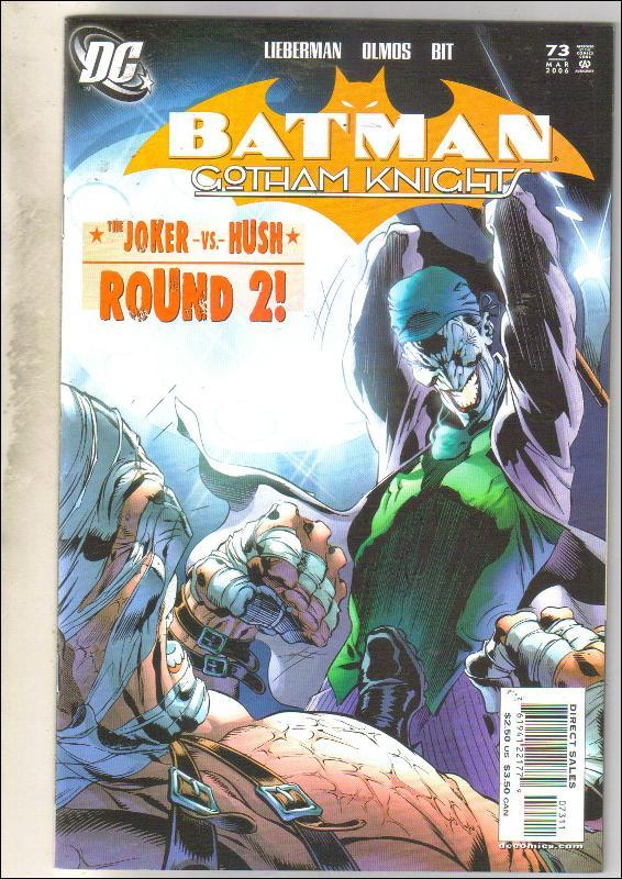 Batman Gotham Knights #73 comic book near mint 9.4