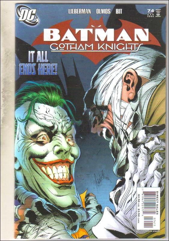 Batman Gotham Knights #74 comic book near mint 9.4