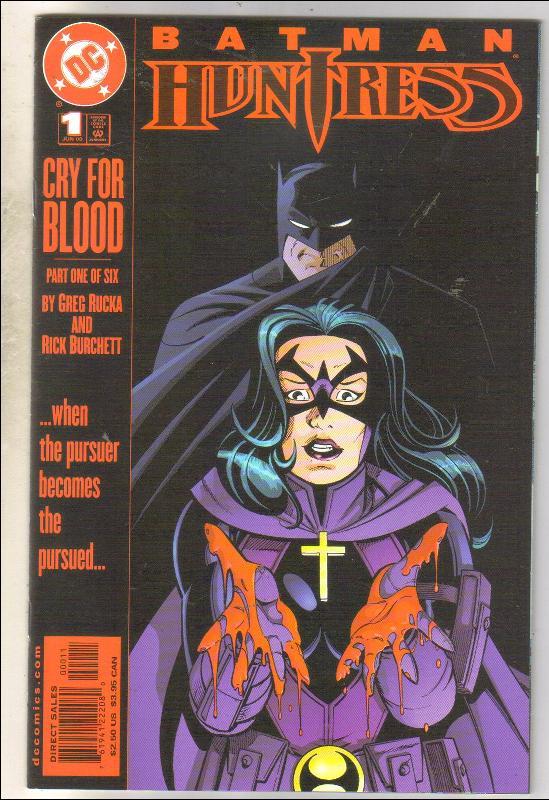 Batman Huntress #1 comic book near mint 9.4