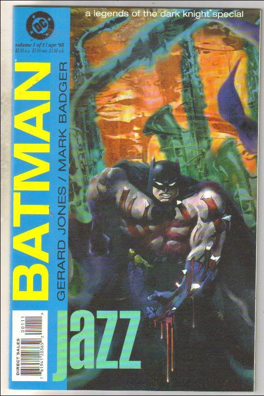 Batman Jazz  #1 comic book near mint 9.4