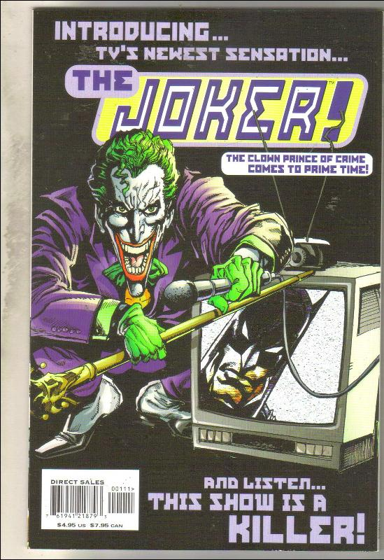 Batman: It's Joker Time  #1 comic book  mint 9.8