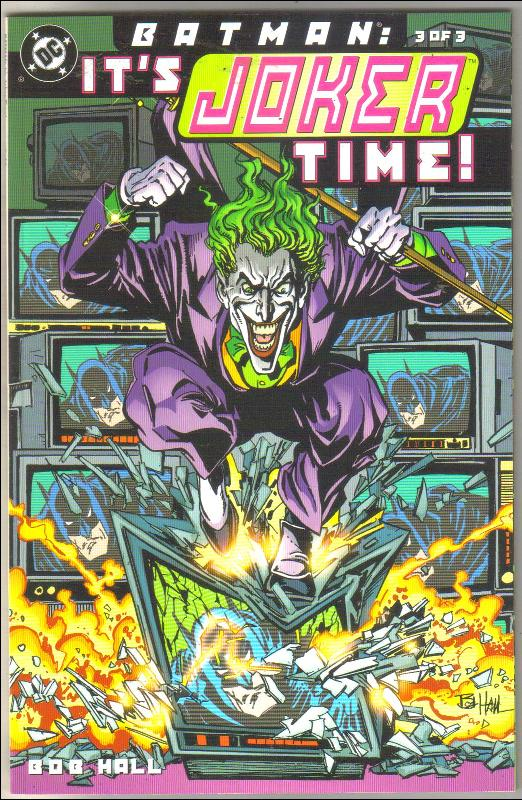 Batman: It's Joker Time  #3 comic book  mint 9.8