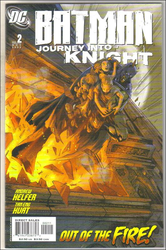 Batman Journey Into Knight #2 comic book mint 9.8