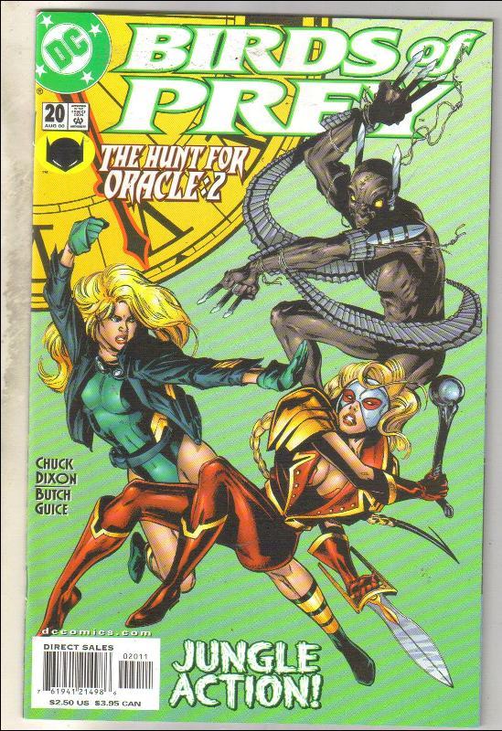 Birds of Prey #20 comic book mint 9.8