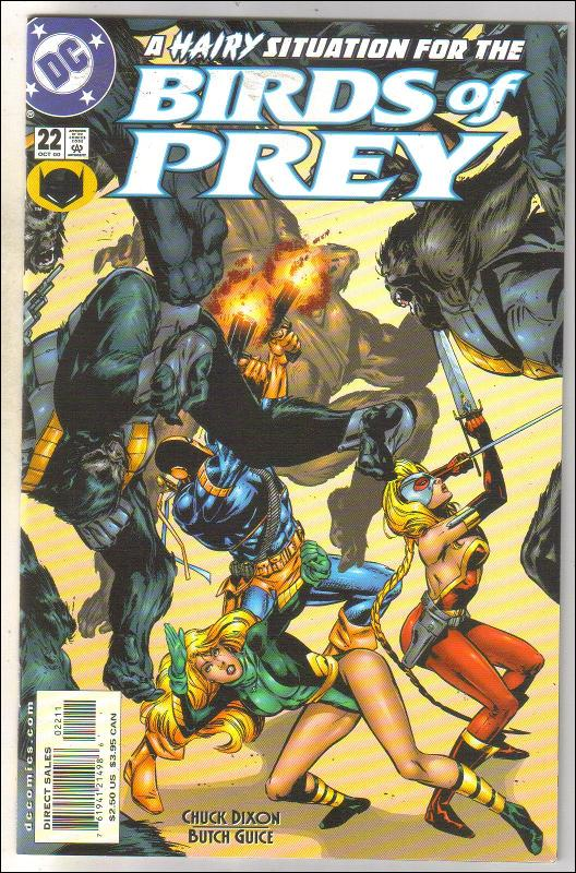 Birds of Prey #22 comic book mint 9.8