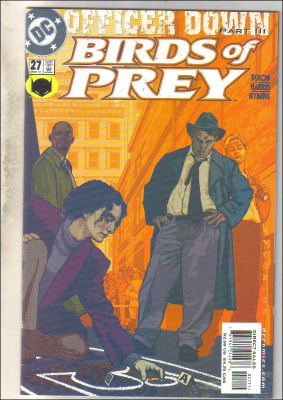 Birds of Prey #27 comic book mint 9.8