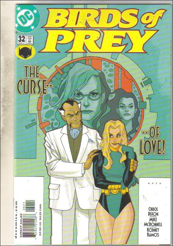 Birds of Prey #32 comic book near mint 9.4