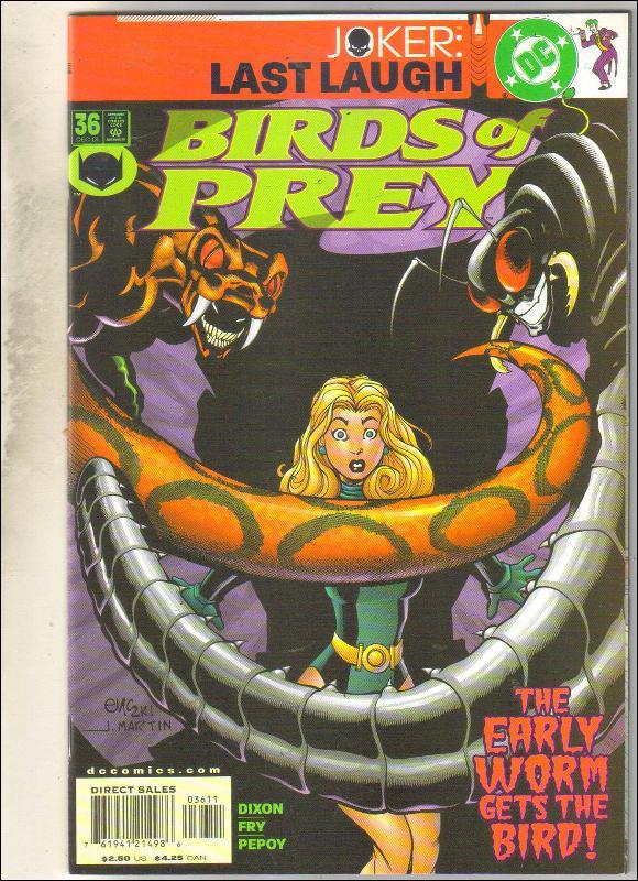 Birds of Prey #36 comic book mint 9.8
