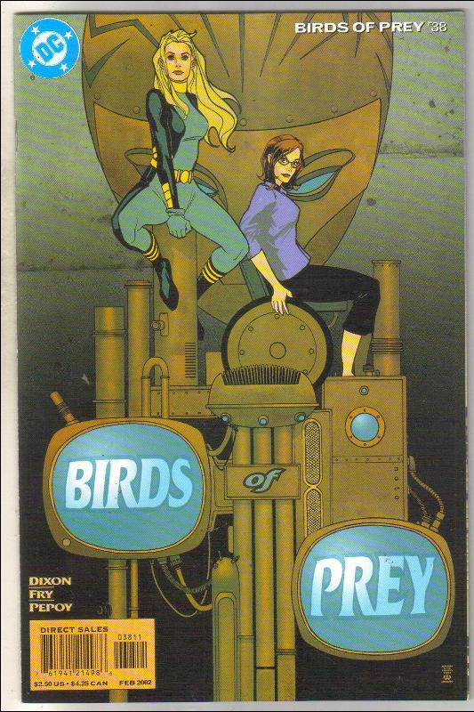 Birds of Prey #38 comic book mint 9.8