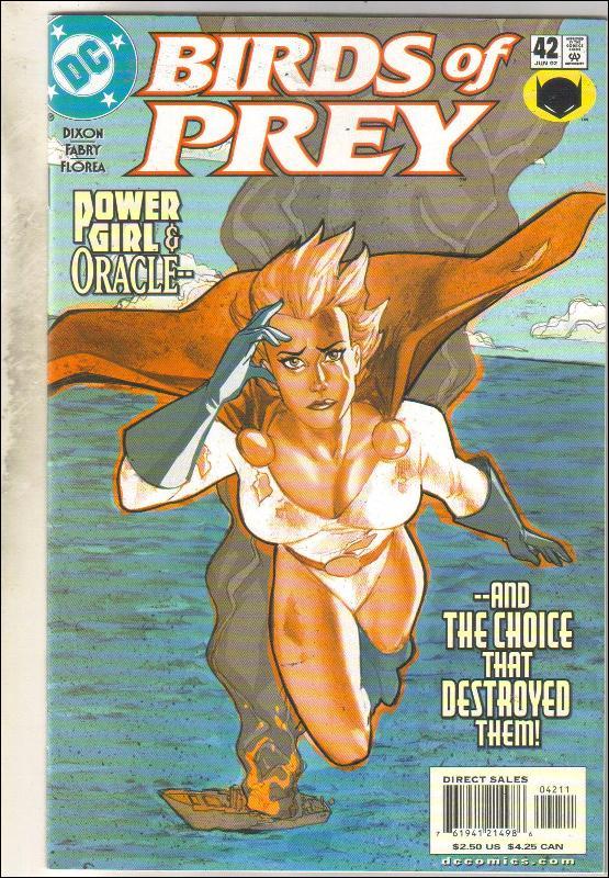 Birds of Prey #42 comic book mint 9.8