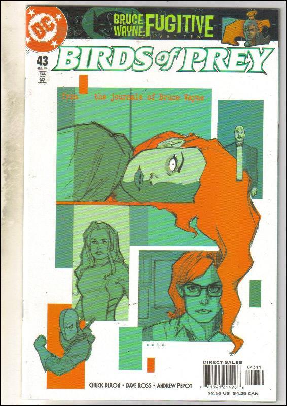 Birds of Prey #43 comic book mint 9.8