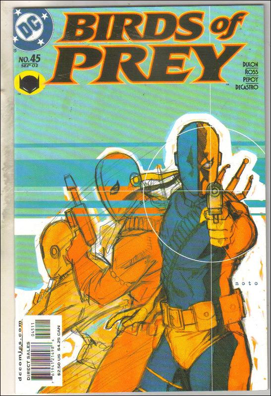 Birds of Prey #45 comic book mint 9.8