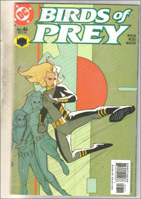 Birds of Prey #46 comic book mint 9.8