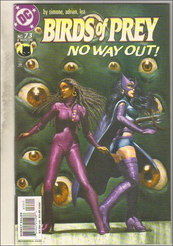 Birds of Prey #73 comic book near mint 9.4