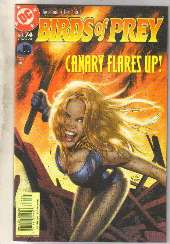 Birds of Prey #74 comic book near mint 9.4