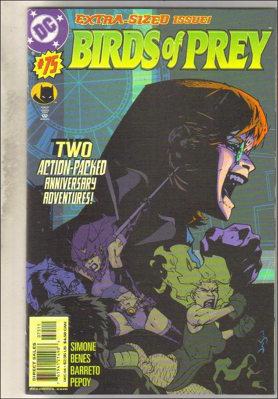 Birds of Prey #75 comic book mint 9.8