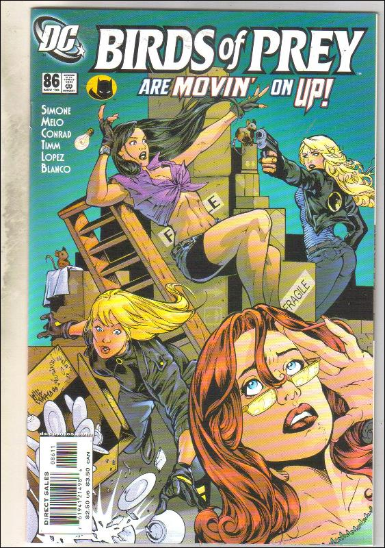 Birds of Prey #86 comic book mint 9.8