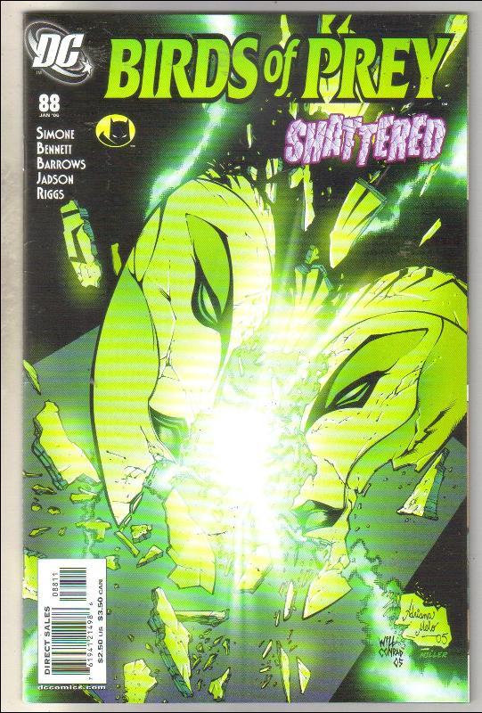Birds of Prey #88 comic book near mint 9.4