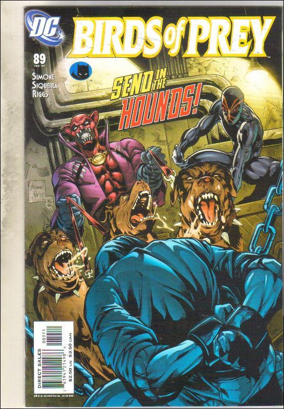 Birds of Prey #89 comic book near mint 9.4