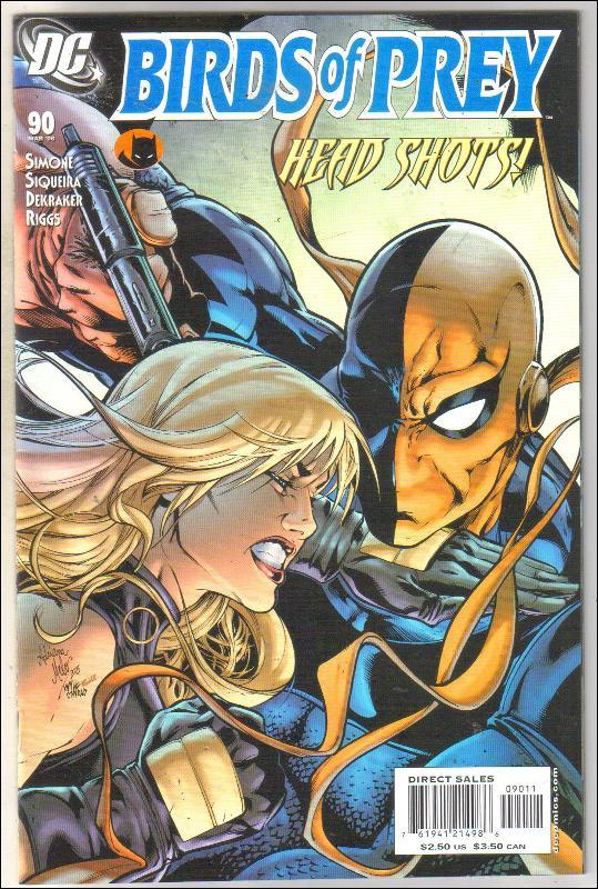 Birds of Prey #90 comic book near mint 9.4