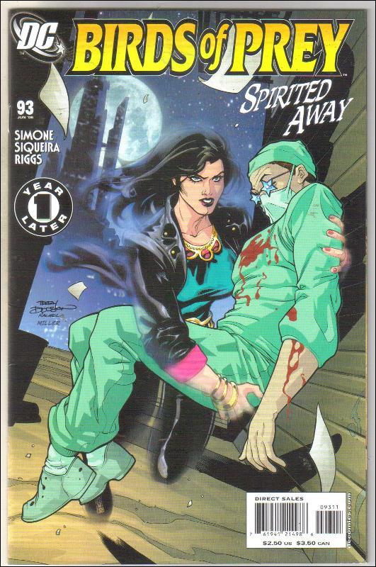 Birds of Prey #93 comic book near mint 9.4