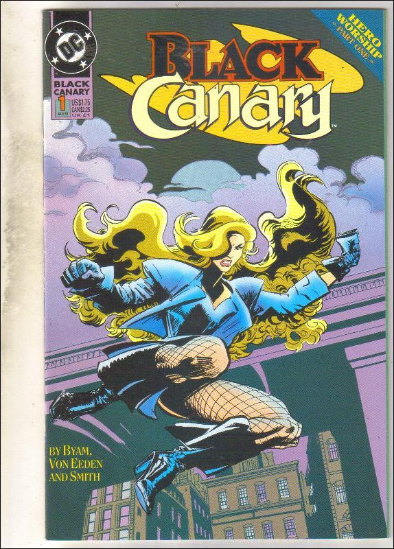 Black Canary #1 comic book near mint 9.4