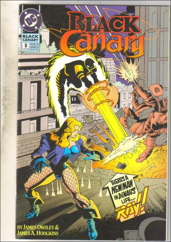 Black Canary #8 comic book near mint 9.4