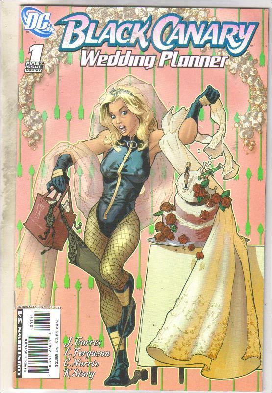 Black Canary Wedding Planner  comic book near mint 9.4