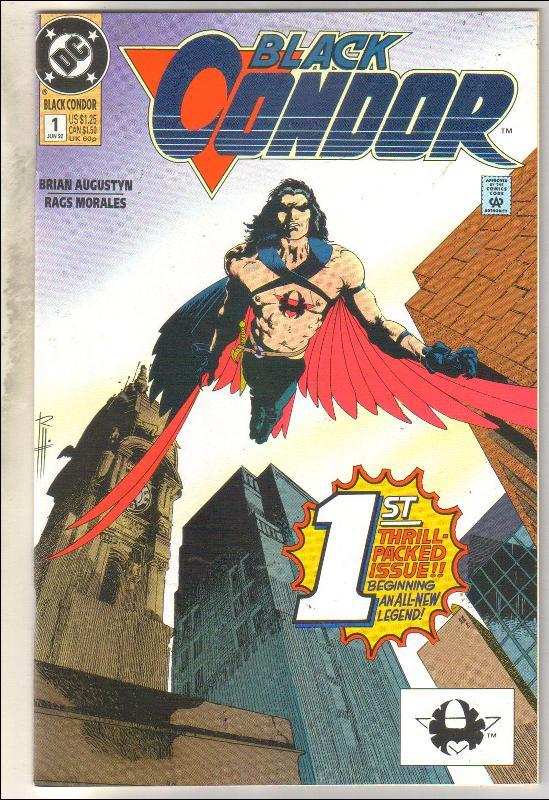 Black Condor #1  comic book near mint 9.4