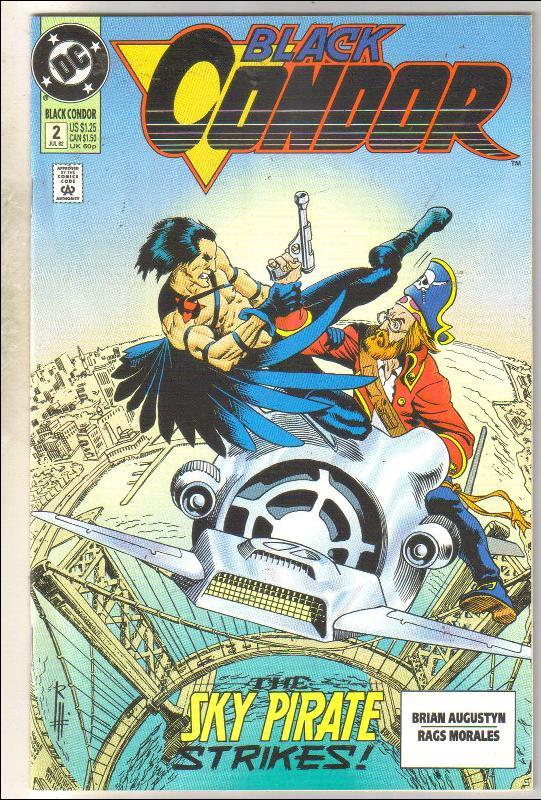 Black Condor #2  comic book near mint 9.4