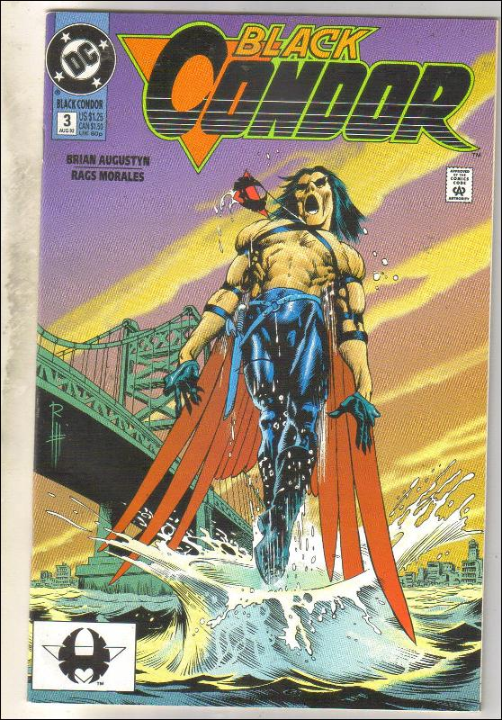 Black Condor #3  comic book near mint 9.4
