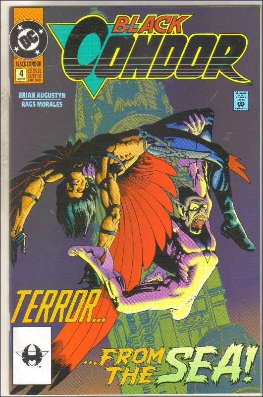 Black Condor #4 comic book near mint 9.4